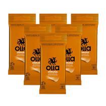 Kit c/ 6 Preservativo OLLA Lubrificado Stimulus 6 unidades -