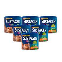 Kit c/ 6 Sustagen Kids 380g Chocolate -