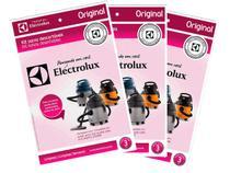 Kit c/ 9 Sacos Originais p/ Aspiradores Electrolux: A10S, A10T, A10 CleanCar, A13 e GT2000 (CSE09) -