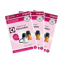 Kit c/ 9 Sacos Originais p/ Aspiradores Electrolux: A20, A20L, A20S e GT3000 (CSE19) -