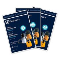 Kit c/ 9 Sacos Originais p/ Aspiradores Electrolux: A20 Novo, GT 3000, GT30N (CSE20) -