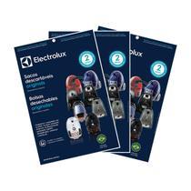 Kit c/ 9 Sacos Originais p/ Aspiradores Electrolux: Clario, Ultrasilencer, Jetmaxx e outros (SBECL) -