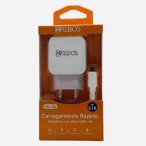 Kit Cabo Turbo Carregador V8 Dual 3.1A Hs-160 Hrebos -