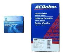 Kit Cabos E Jogo Velas Original Gm Celta Corsa 1.0 1.4 1.6 8v - Gm Original