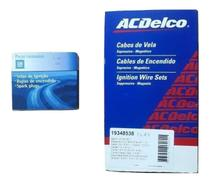 Kit Cabos Velas GM Original Corsa 1.0 1.4 1.6 8v 1994 95 96 97 98 99 2000 2001 Gasolina