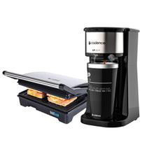 Kit Cadence Black - Cafeteira To Go e Grill -