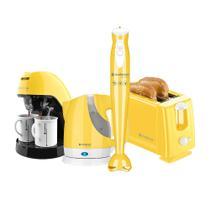 Kit Cadence Colors Amarelo Simmy -
