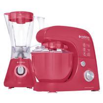 Kit Cadence Colors Rosa Doce - Batedeira e Liquidificador -