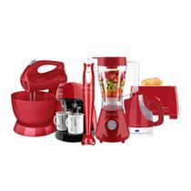 Kit Cadence Colors Vermelho Completo V -