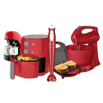 Kit Cadence Colors Vermelho Light Fryer III -