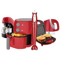 Kit Cadence Colors Vermelho Light Fryer -