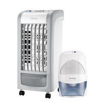 Kit Cadence Luxor - Climatizador 3,7L e Desumidificador de Ar -