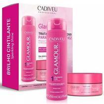Kit Cadiveu Glamour Shampoo + Mascara - Tratamento Milagroso -