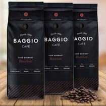 Kit Café Baggio Espresso Bourbon em Grãos 500g - 3 Pacotes -
