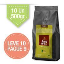 Kit Café Guanabara Grãos Selecionados Leve 10 pacotes de 500g pague 9 - 100% Arábica - Grãos -