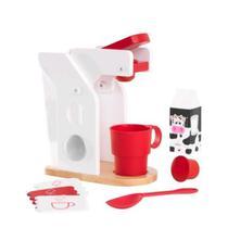 Kit Café Vermelho e Branco KidKraft - Kid Kraft