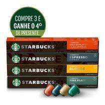 Kit Cafés Starbucks by Nespresso_3cx+1cx presente -