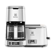 Kit Cafeteira Expressionist Display LCD Programável Electrolux + Torradeira Expressionist (CMP50)+(TOP50) -