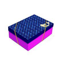 KIT CAIXA PARA PRESENTE RETANGULAR - TAMANHO M (CAIXA + PAPEL SEDA + FITA) - 1 unidade - Cromus