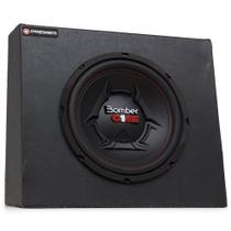 """Kit Caixa Selada Slim Bomber com 1 Subwoofer 10"""" Bomber One - 200 Watts RMS - Premier Audio"""