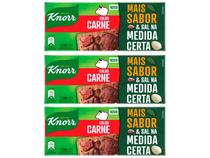 Kit Caldo Carne Knorr 3 Unidades 114g Cada -