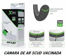 Kit Câmara de Ar Vacinada Moto Pneu 17-110/90 Traseiro + 19-90/90 Dianteiro - Scud