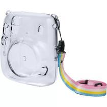 Kit Câmera Instax Mini 11 + Bolsa + 10 Filmes Fujifilm Azul -