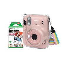 Kit Câmera Instax Mini 11 com pack 10 fotos e bolsa Crystal - Fujifilm