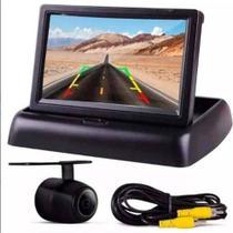 Kit Camera Re Tela De Painel LCD Automotiva Estacionamento - Egimp