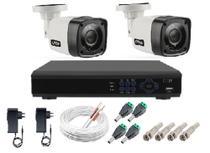 Kit Câmeras de segurança  MultiHD Dvr 4ch full hd + 2 câmeras Infravermelho 720p + Acessórios - citrox