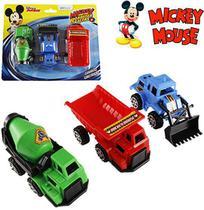Kit caminhão construção com 3 peças roda livre mickey - Etitoys