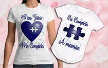 Kit camiseta e body bebê Meu Primeiro Dia Das Mães novo - Vidape