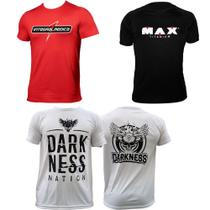 Kit Camiseta Integralmedica Max Titanium Darkness Nation