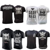 Kit Camisetas Integralmedica Darkness Nation Empire Branca - Max titanium