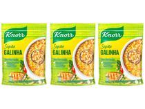Kit Canjão Galinha Knorr 3 Unidades 195g Cada -