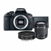 Kit Canon T6i + 18-55mm IS STM + 40mm f/2.8 STM