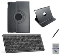 "Kit Capa 360/Can/Pel/Teclado iPad Air 3 2019 - 10.5"" Preto - Global Cases"