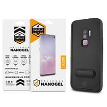 Kit Capa à Prova D'água e Película Nano Gel Dupla para Galaxy S9 Plus - Gshield - Gorila Shield