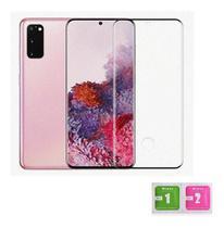 Kit Capa Anti Impacto Samsung Galaxy S20 Plus + Película Vidro 3D -