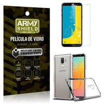 Kit Capa Anti Shock + Pelicula Vidro Samsung Galaxy J8 - Armyshield