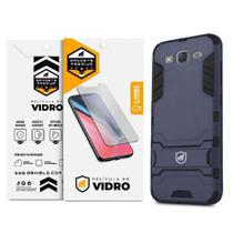 Kit Capa Armor e Película de Vidro Dupla para Samsung Galaxy J5 - Gshield -