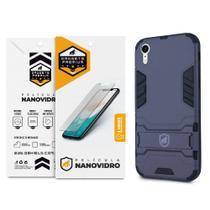 Kit Capa Armor e Película Nano Vidro para iPhone XR - Gshield - Apple