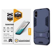 Kit Capa Armor e Película Nano Vidro para iPhone XS Max - Gshield - Apple