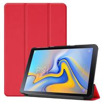Kit Capa Capinha Case Smart Tablet Galaxy Tab A7 T500 T505 Couro Aveludada High Premium + Pelicula - Extreme Cover