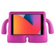 Kit Capa Capinha Ipad Mini 3 3ª Geração 2014 A1599 A1600 Infantil Kids Case Emborrachada + Pelicula - Extreme Cover