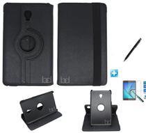 Kit Capa Case Galaxy Tab S4 - Modelo T835 10,5 polegadas 360 / Can Touch + Pel Vidro (Preto) - Skin t18