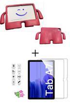 Kit Capa Case  Infantil Tablet Samsung Galaxy Tab A7 T500/T505 + Pélicula de Vidro 10.4 (2020) - Ibuy