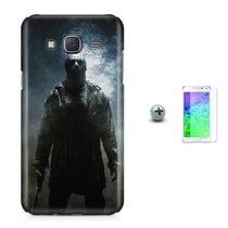 Kit Capa Case TPU Galaxy Gran Prime G530/G531 Jason Voorhees + Película de Vidro (BD01) - Bd cases