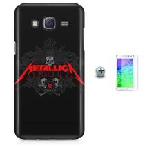 Kit Capa Case TPU Galaxy Gran Prime G530/G531 Metallica + Pel Vidro (BD01) - Bd cases