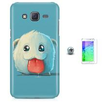Kit Capa Case TPU Galaxy Gran Prime G530/G531 Poro League of Legends + Pel Vidro (BD01) - Bd cases